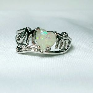 Jewelry - Created Opal Mothers Day Ring